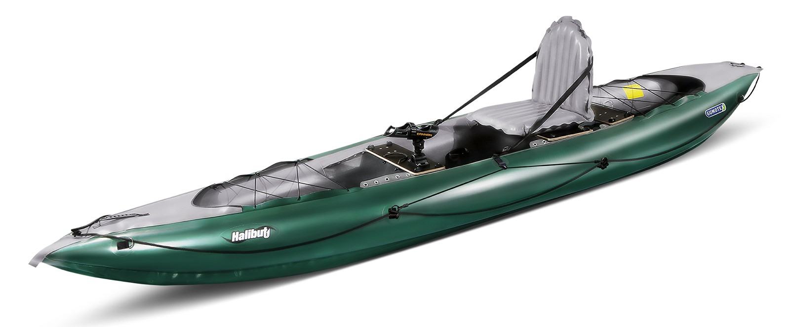 kayak gonflable peche