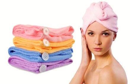 serviette cheveux