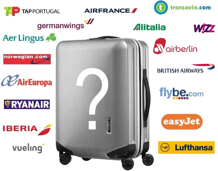 taille valise cabine avion