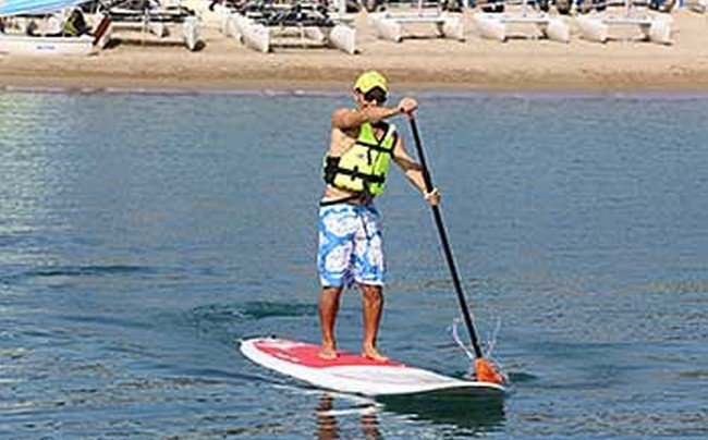 un paddle