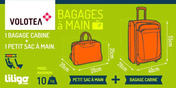 bagage cabine ryanair dimension