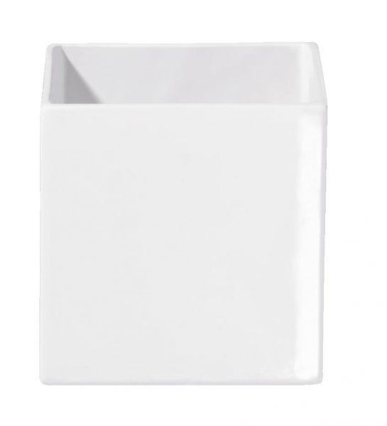 cache pot blanc
