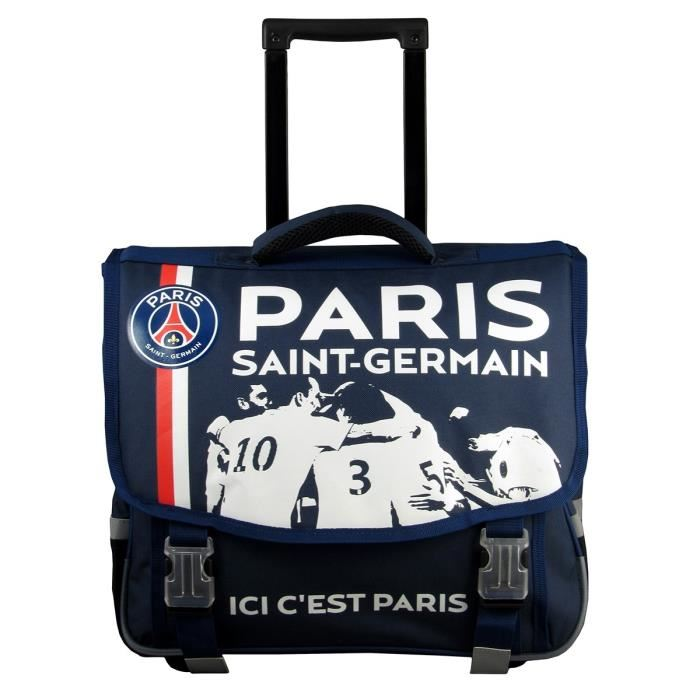 cartable a roulette psg