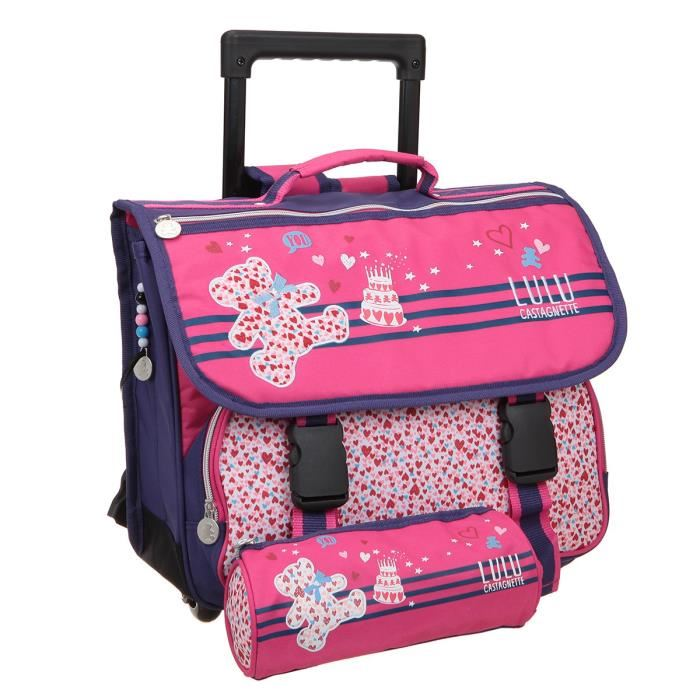 cartable trolley fille