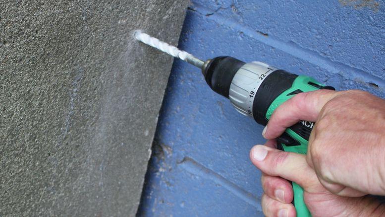 comment percer un mur en béton