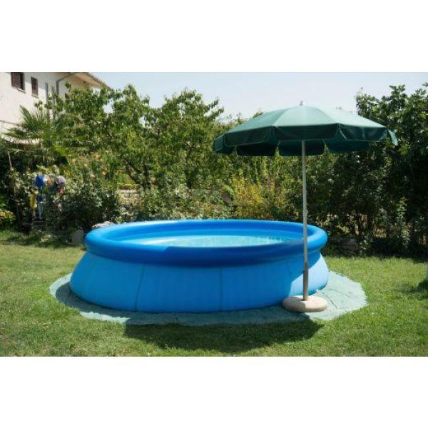 dalle sous piscine hors sol