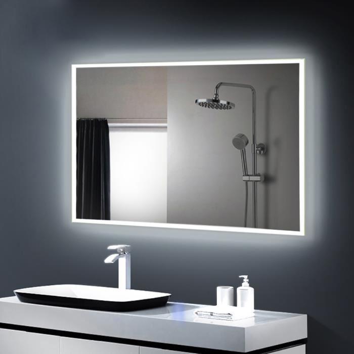 Lampe Miroir LED maquillage salle de bain Éclairage avant miroir ...