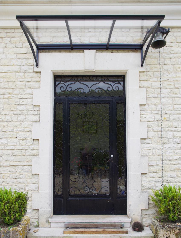 marquise porte d entrée design