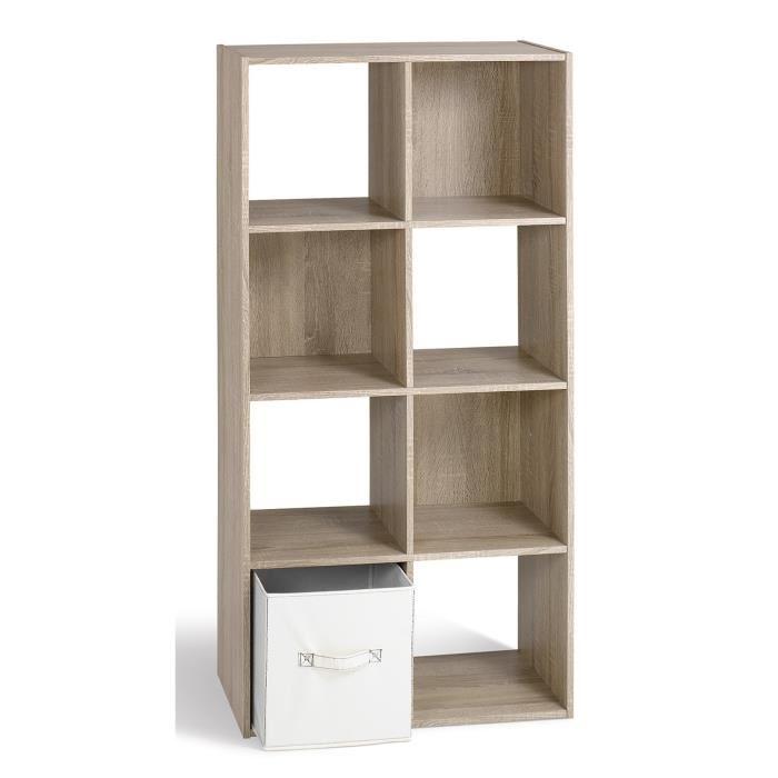 meuble 8 cases