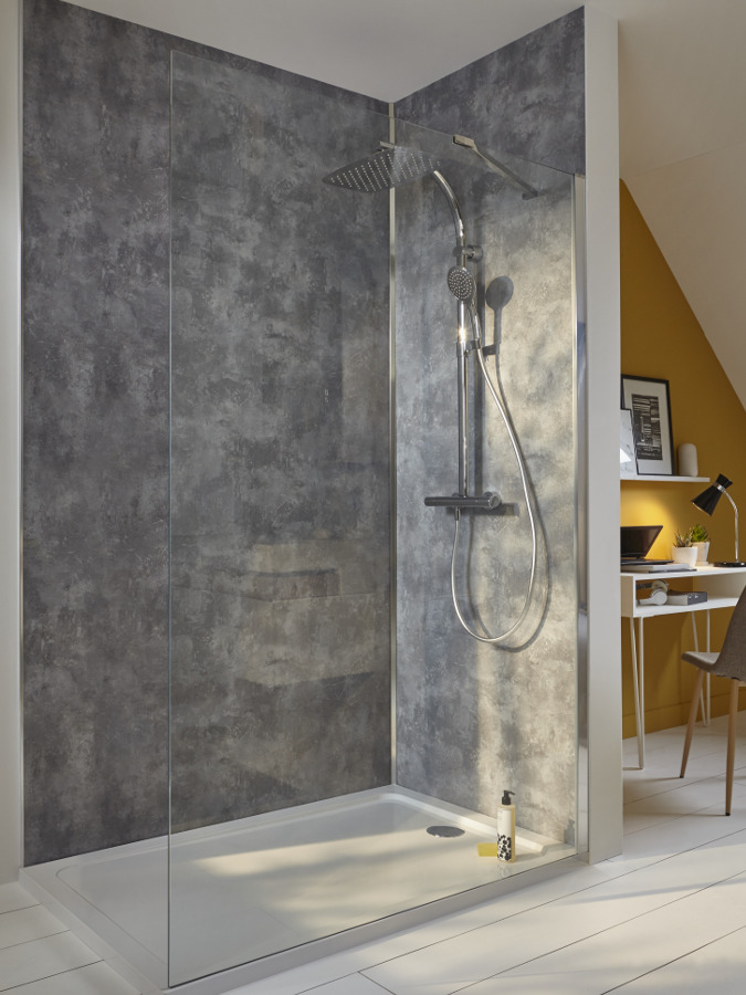panneau salle de bain