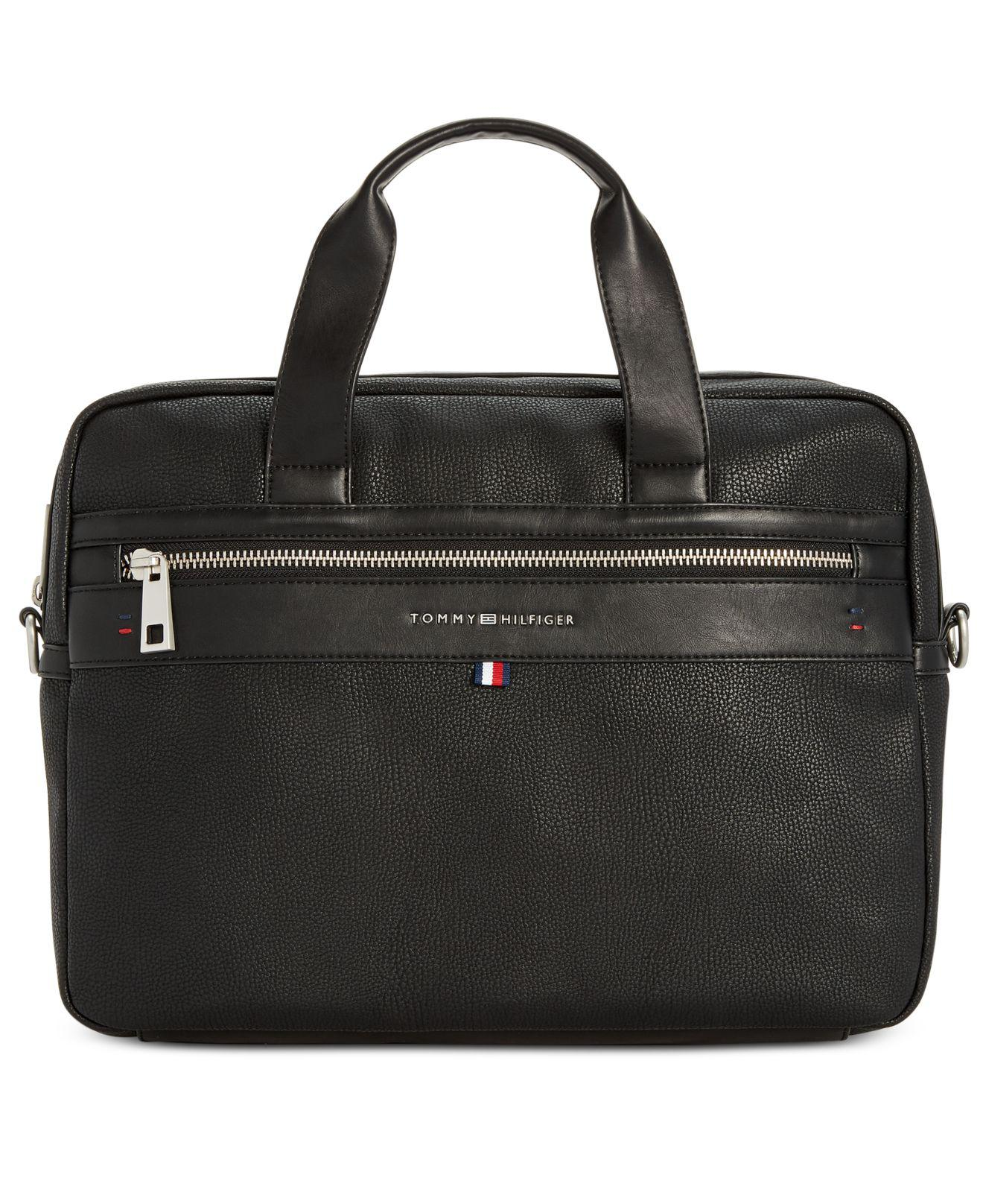 porte document tommy hilfiger