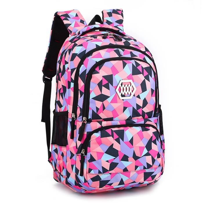 sac à dos scolaire fille