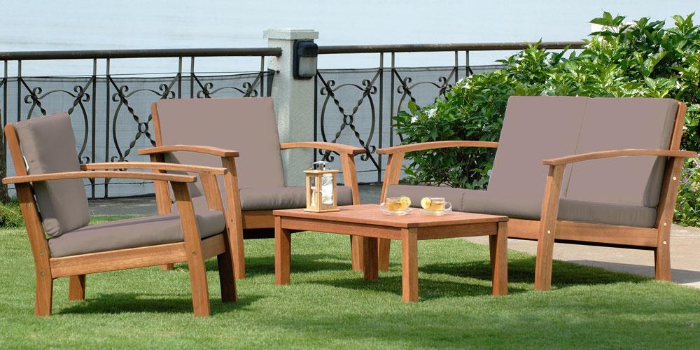 ▷ Avis Salon de jardin bois 【 Test et Comparatif du ...