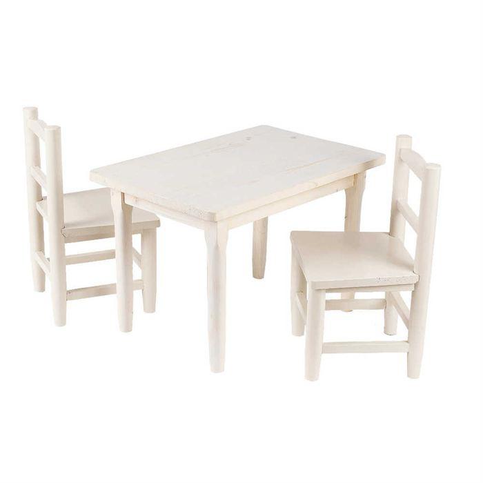 table et chaise pour enfant