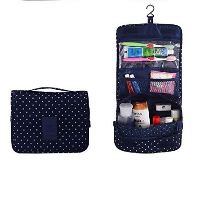 trousse de toilette pliable