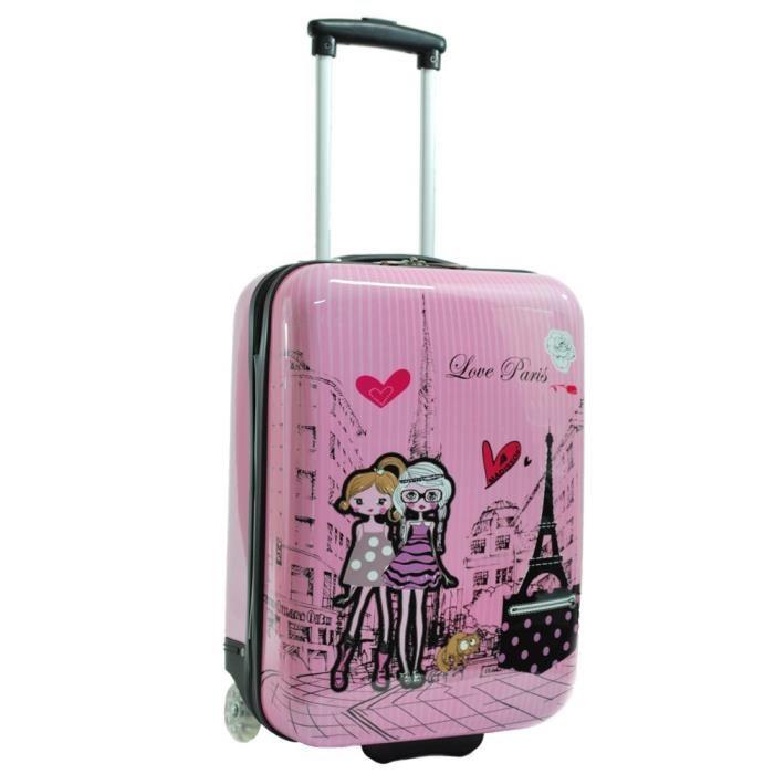 valise rigide fille