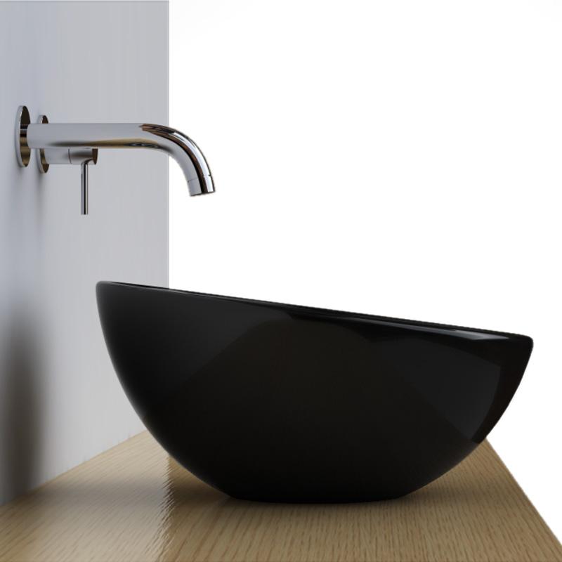 vasque salle de bain noir