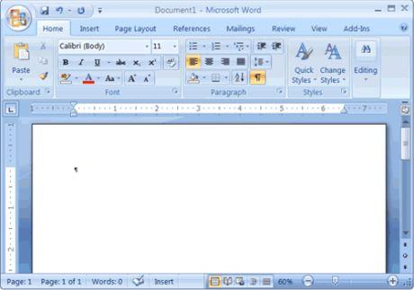 word 2007 gratuit