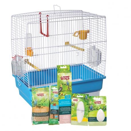 cage pour perruches ondulées