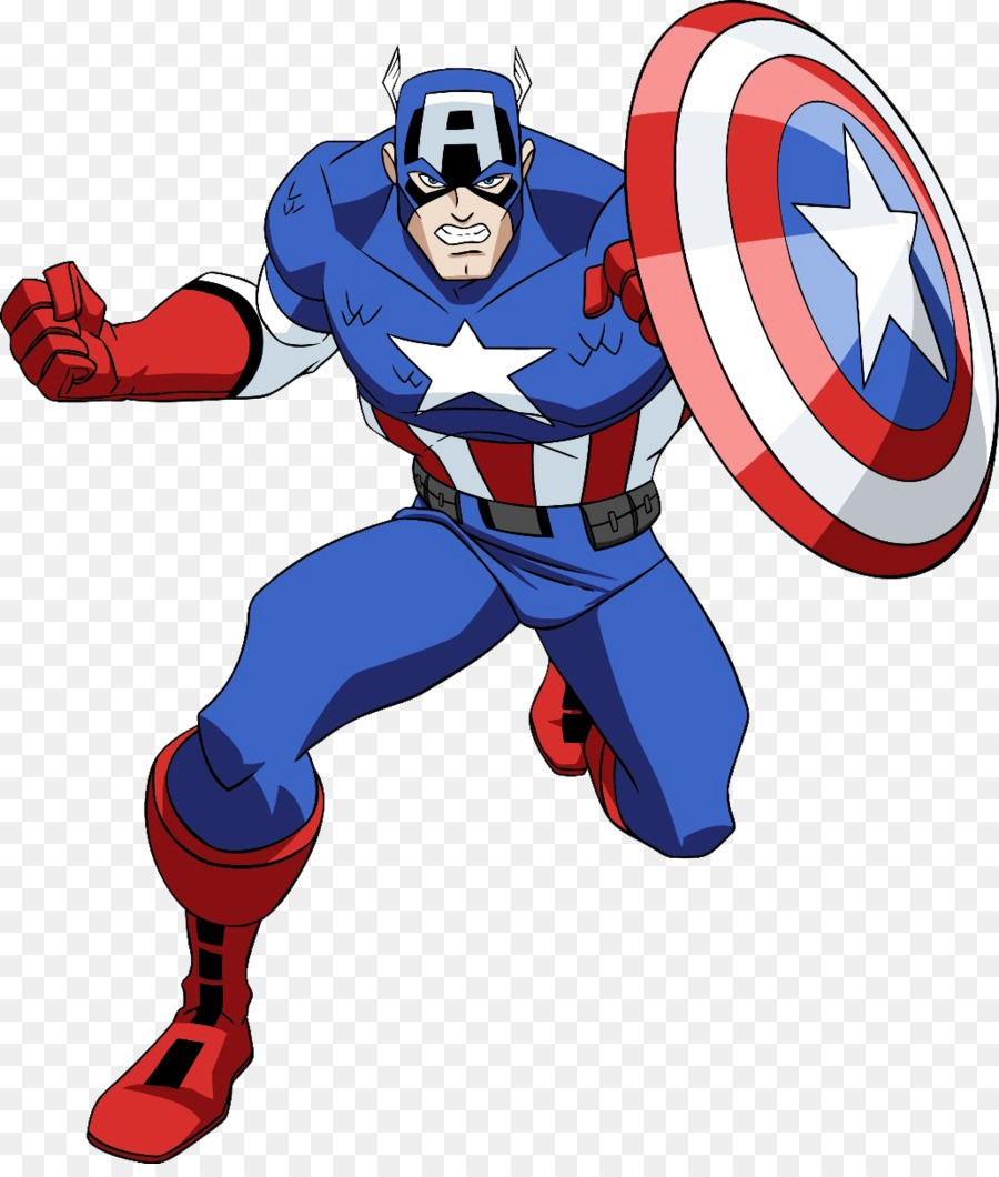 captain america dessin animé