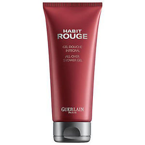 gel douche habit rouge