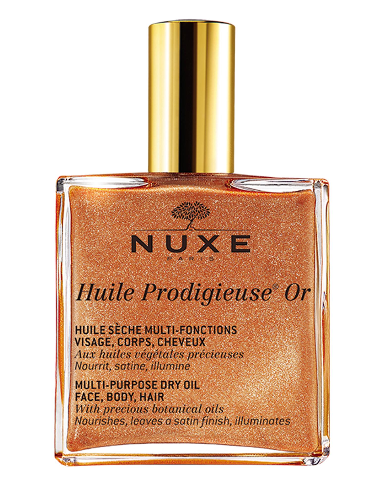 huile prodigieuse nuxe or