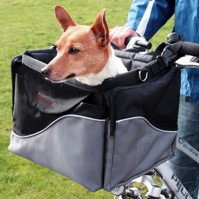 panier velo chien 10 kg