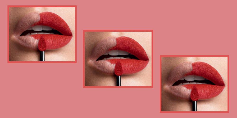 rouge à lèvre qui tient