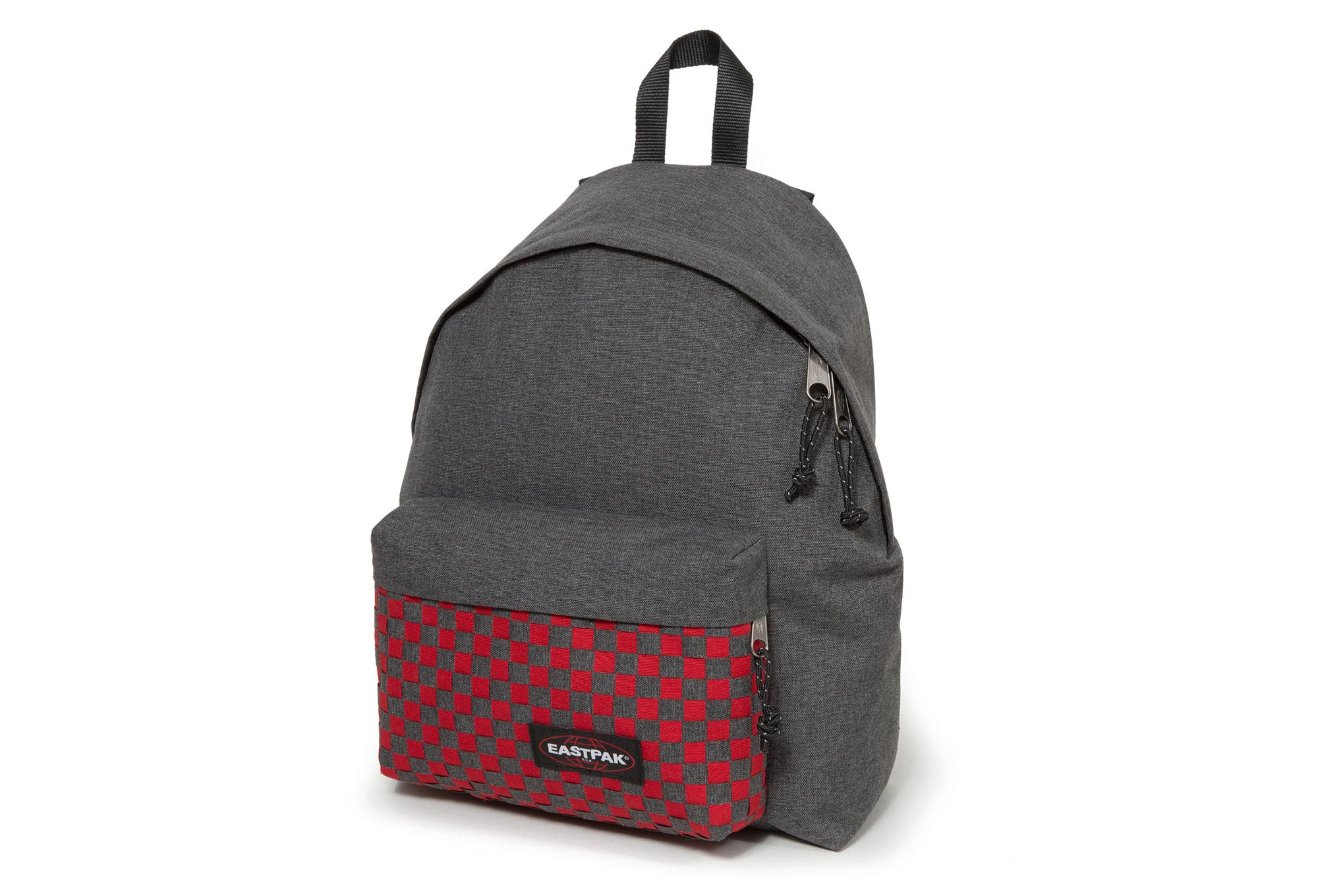 sac eastpak gris et rouge
