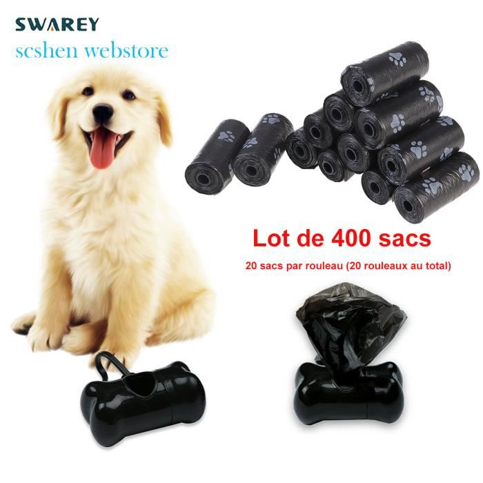 sac excrement chien
