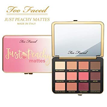 too faced just peachy matte