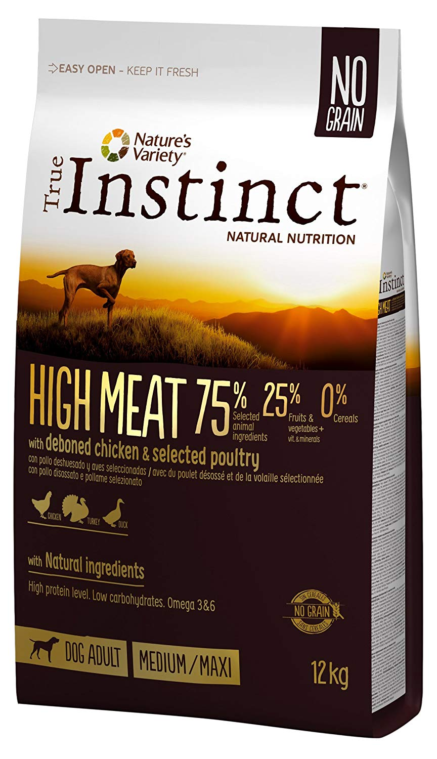 true instinct high meat adult