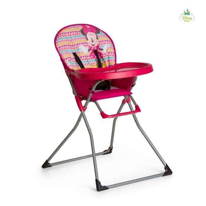 chaise haute bebe fille