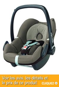 siege auto pour bebe de 6 mois
