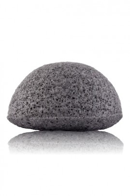 éponge konjac charbon