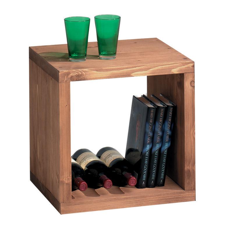 etagere cube bois