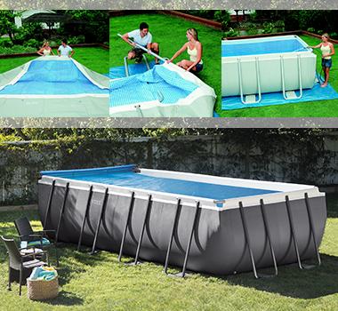 piscine hors sol tubulaire rectangulaire