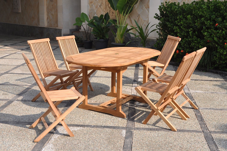table jardin teck